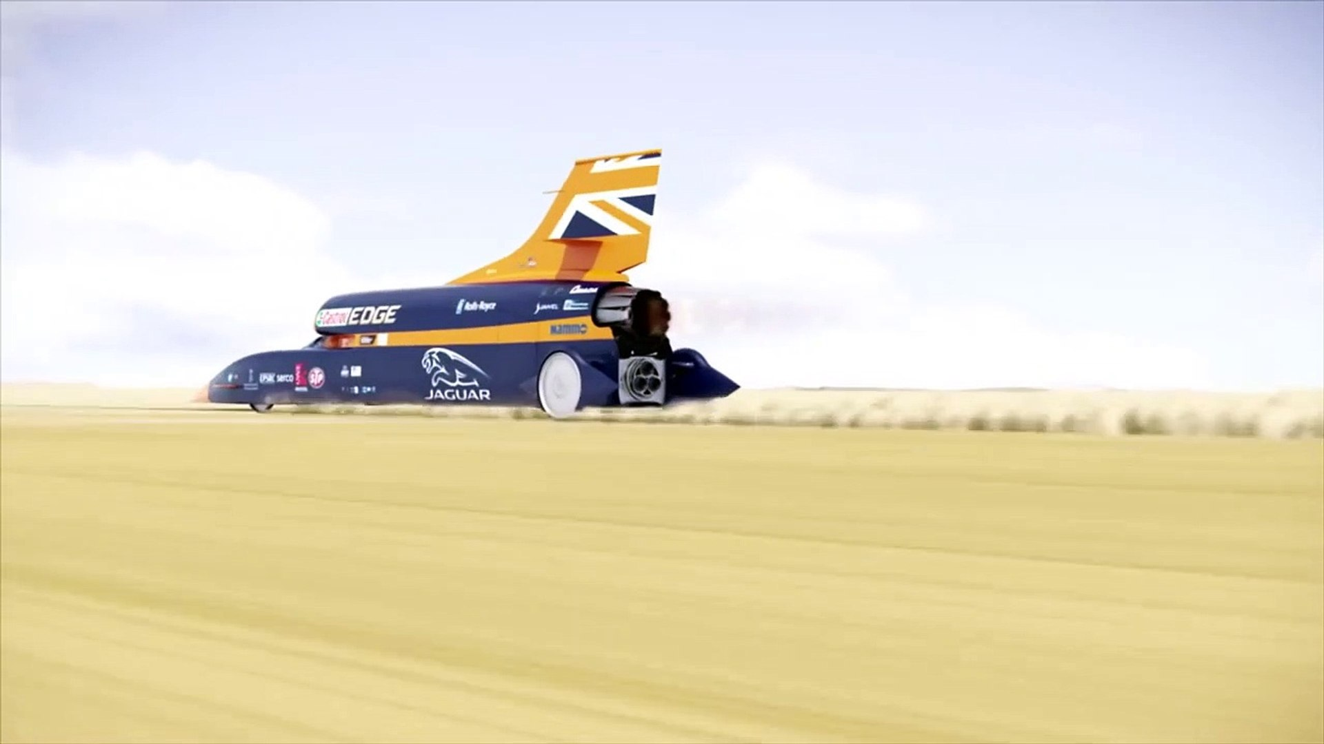 Fly through the 1,000mph BLOODHOUND Supersonic Car-k