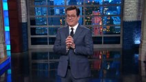 Colbert Pokes Fun At Trump's Feud With CNN, Restrictions On Press Briefings | THR News