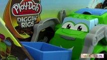 Des déchets modeleur jouer chahuteur le le le le la poubelle doh super camion poubelle pâte à doh tossin tru