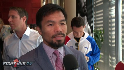 """Manny Pacquiao surprised by love & support of Aussie fans! Calls Jeff Horn fight """"one of a kind"""""""