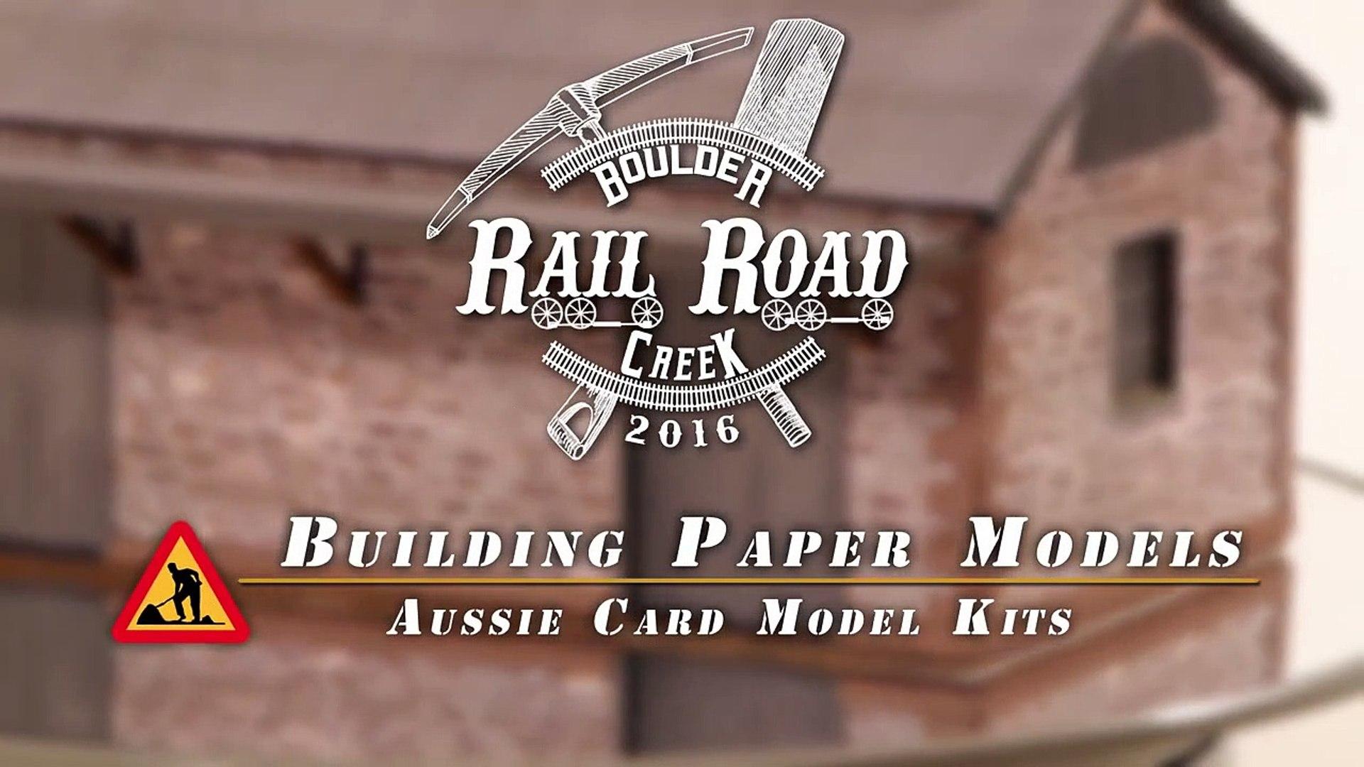 Paper Building Kits - Model Railroad Scenery-nHPWPoZ