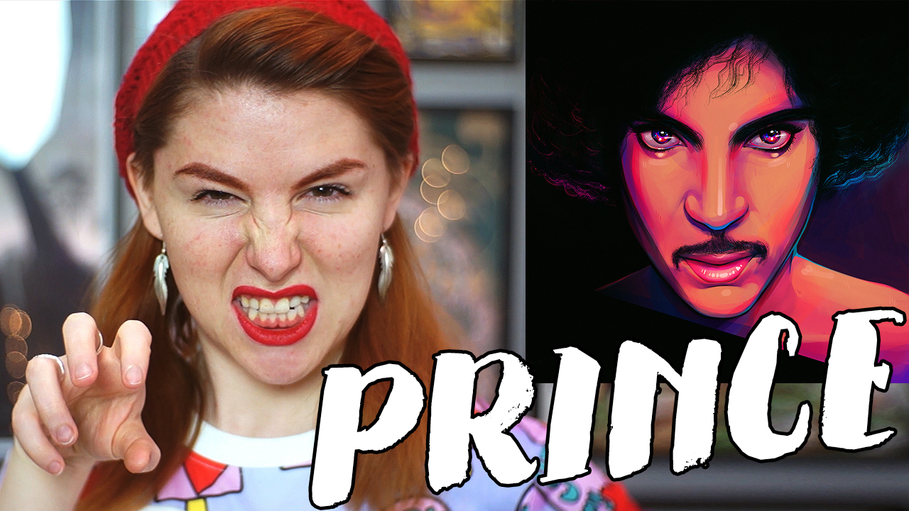 DRAWING PRINCE – Purple Rain Comes to Life // Rad Art with Beth Be Rad | Snarled