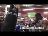 Thomas Dulorme sick speed and power after 8 rd of sparring EsNews Boxing
