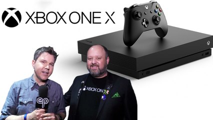Why Buy an Xbox One X? - Aaron Greenberg Interview - Electric Playground