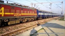 High Speed Actions and crawls at Ajaibpur   New Delhi - Kanpur