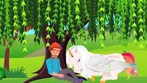 Et les dessins animés enfants garderie préscolaire rimes chanson chansons le le le le la Licorne Lion |
