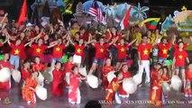 ASEAN CHILDREN FESTIVAL 2017 - Street Festival - Lễ hội đường phố -  Màn kết- Việt Nam - Múa sạp