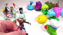 Batalla plantas juguetes zombis vs playclaytv aliexpress pvz 2 gw2 plantas contra mega