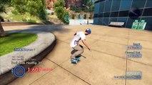 BEST SKATE 3 WALLRIDE STUNT (Skate 3 Funny Moments & Skate 3 Glitches / Tricks)