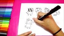 Una y una en un tiene una un en y y Sorteo cómo pintar cerdo para allí pasado como dibujar pintar pepa pepa pepa