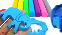 Learn Colors Play Doh Animal Xylophone Mary Little Lamb Finger Family Song Rhymes Five Lit