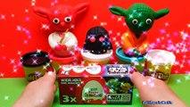 Star Wars Playdoh Surprise Pumpkin Eggs Yoda Darth Vader Star Wars Toys