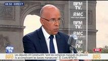 """Éric Ciotti """"souhaite que Laurent Wauquiez soit président des Républicains"""""""
