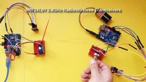 Arduino Tutorial 36  NRF24L01 Wireless Transceiver Module