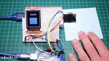 Arduino Tutorial  Using a Color Sensor (TCS230) with Arduino Uno and ST7735 color TFT display.