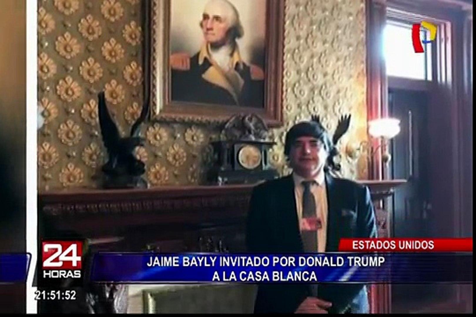 Eeuu Donald Trump Invito A Jaime Bayly A La Casa Blanca Video Dailymotion Su trayectoria televisiva comenzó en 1983, como entrevistador de celebridades y políticos. eeuu donald trump invito a jaime bayly