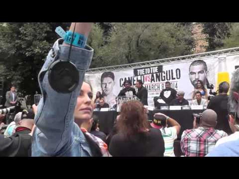 Alfredo Angulo Shows Love To His Favorite Fan