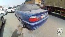 Dubai abandoned BMW cars E39, E46, E34. Amazing abandoned vehicles. Exclusive video