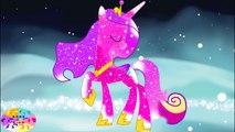 Livre coloration galaxie dans petit crinière mon poneys poney les princesses arc en ciel se transforme 6 MLP