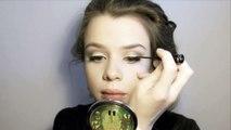 Œil faux cils Mariya Vey mw faux cils maquillage ∙ youtube