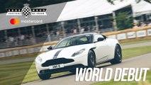 FB Aston Martin DB11 V8 World Debut at FOS