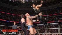 Roman Reigns vs John Cena vs Randy Orton vs Kane Battleground 2014 Full Match Dailymotion - John Cena vs Roman Reigns vs Randy Orton vs Kane 2014 - WWE