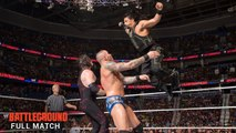 Roman Reigns vs John Cena vs Randy Orton vs Kane Battleground 2014 Full Match Dailymotion - John Cena vs Roman Reigns vs Randy Orton vs Kane 2014 - WWE