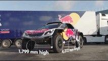 VÍDEO: Peugeot 3008 DKR Maxi, nueva arma de Carlos Sainz para el Dakar 2018