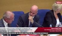 Audition de Jean-Michel Blanquer - Les matins du Sénat (29/06/2017)