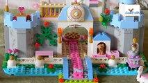 En y serie de Lego Cenicienta castillo real 2 de la Serie B de descanso en el columpio de oro pista