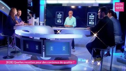 Le Grand Débat du Web N°74 (Contenus, EdTech)