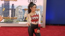 "Jenna Ortega ""Spider-Man: Homecoming"" World Premiere Red Carpet"