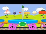 ★2 HOURS★ Learn Vegetables - Train Version Rhyme - 3D Animation Children Songs