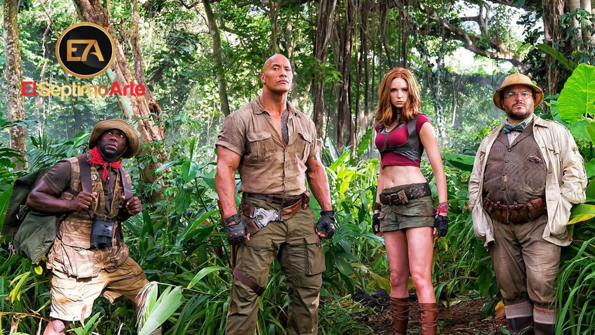 Jumanji: Welcome to the Jungle - Tráiler V.O. (HD)