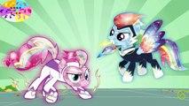 Coloration cristal dans petit crinière mon poneys poney puissance se transforme vidéos 6 MLP f