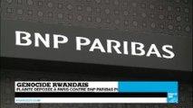 Génocide rwandais : plainte déposée contre BNP Paribas pour complicité