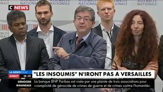 Direct : Jean-Luc Mélenchon et les députés de la France insoumise n'assisteront pas au discours d'Emmanuel Macron