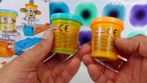 Et méprisable pâte moi moi domestiques jouer examen roulent timbre jouet déballage Doh playset