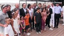 Marseille : célébrités, politiques et militaires réunis autour une chanson pour un enfant autiste