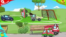 AMAZING! Little Sister & Brother Rescue Cars WHEELY and Phsss from HOOLigans #31 Cars Cartoons,Animated cartoons movies 2017