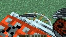 Bug cómo hacer una bomba nuclear sin mods Minecraft cohete galicraft tutorial a Marte