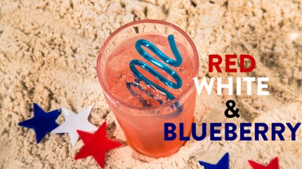 Red, White and Blueberry Drink Recipe