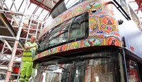 Emerging Pakistan branding on London double-decker buses