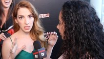 """Molly Bernard Interview """"Younger"""" Season Four NYC Premiere Party"""