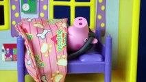 Complet capuche petit boueux porc jouer poud rouge équitation école Peppa peppa doh