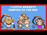 ★2 HOURS★5 Little Monkeys Jumping On The Bed|| Plus Lots More Rhymes || 3D Animation Rhymes