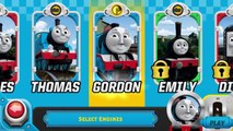Thomas Tank Engine & Friends: Race On Game - Blue Mountain Quarry - Stations Levels 1-6 Al