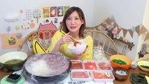 【MUKBANG】 Big Bowl Of Rice & Salted Cod Roe! In Various Luxurious Styles 5Kg, 6500kcal[CC