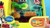 Aventura y divertido país de nunca jamás pirata piratas Jugar-doh Informe el juguetes con fuerte fuerte a cabo