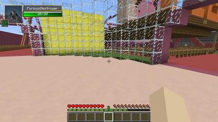 Minecraft  SUPERGIRLYGAMER AMUSEMENT PARK (Custom Map) Part 2